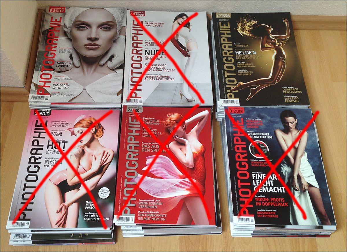 Jahresausgaben der Zeitschrift Photographie