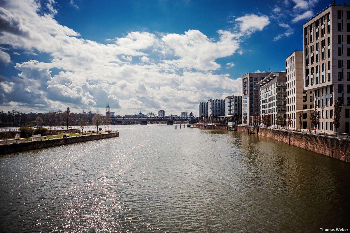 Architekturfotograf Frankfurt am Main: Der Westhafen von Frankfurt am Main (1)