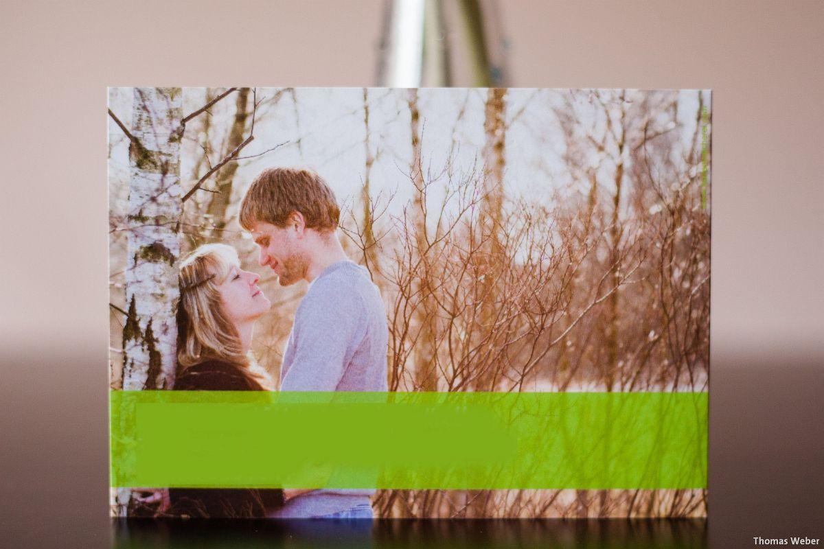 Hochzeitsfotograf Wilhelmshaven: Verlobungsfotos für die Einladungskarten zur Hochzeit (3)