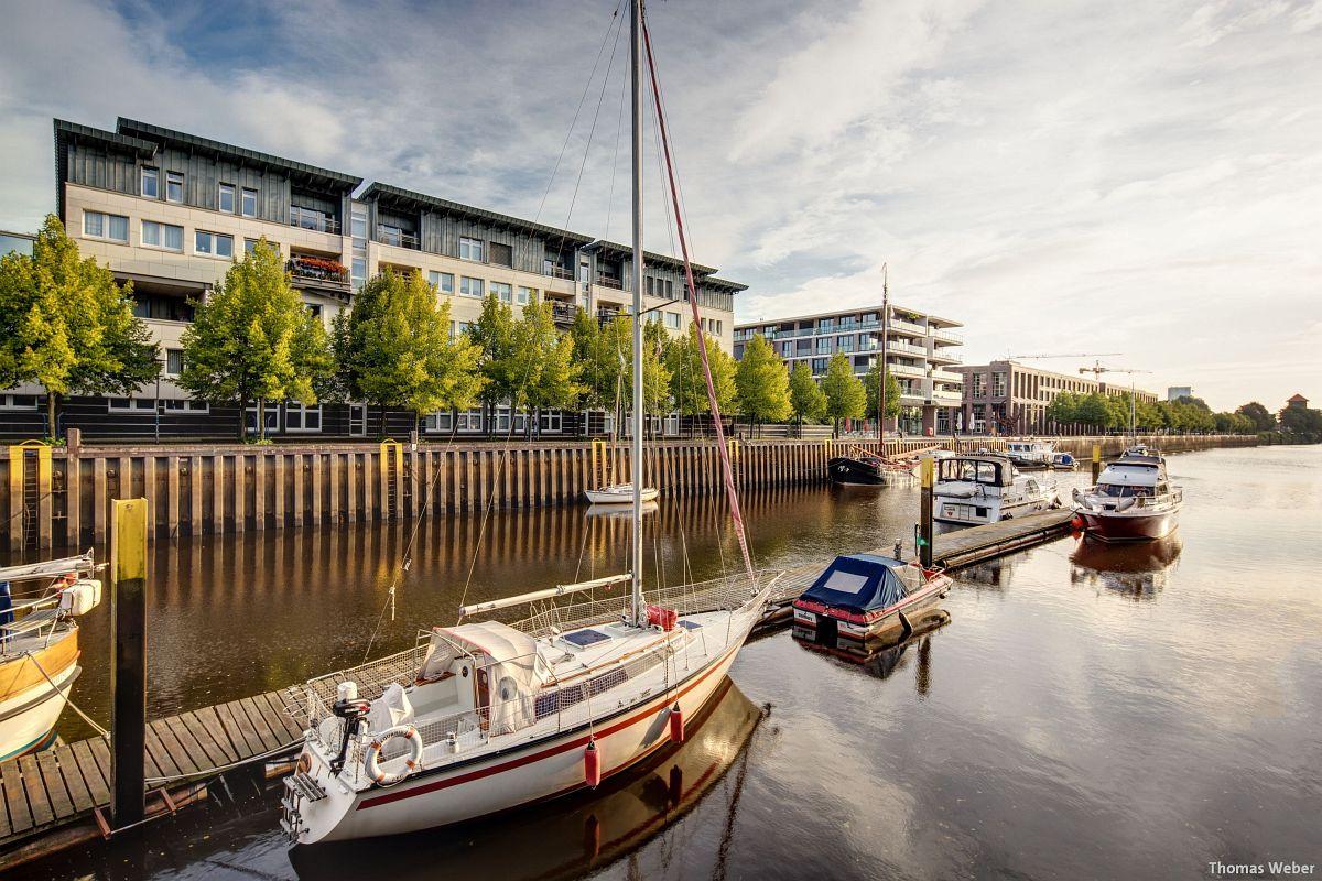 Fotograf Thomas Weber aus Oldenburg: Der Oldenburger Yachthafen am Morgen (1)