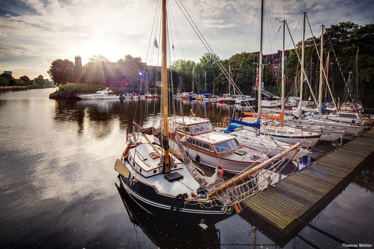 Fotograf Thomas Weber aus Oldenburg: Der Oldenburger Yachthafen am Morgen (2)