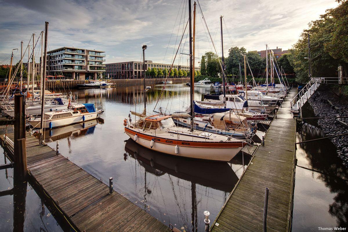 Fotograf Thomas Weber aus Oldenburg: Der Oldenburger Yachthafen am Morgen (3)