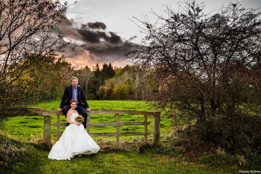 Hochzeitsfotos auf dem Gut Altenkamp in Papenburg