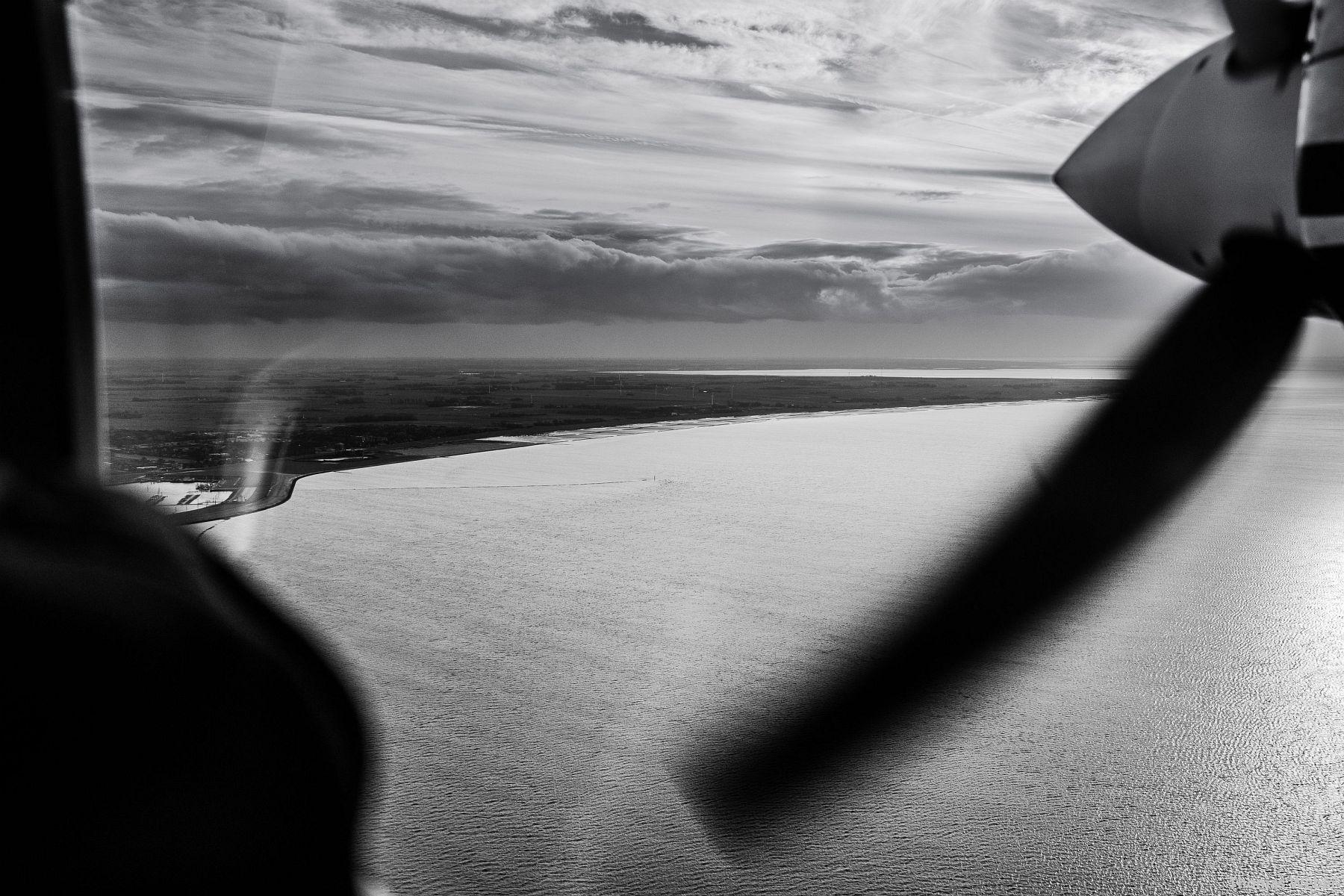 Fotograf Thomas Weber aus Oldenburg: Flucht vor dem Orkan Xaver mit dem Inselflieger Juist (9)