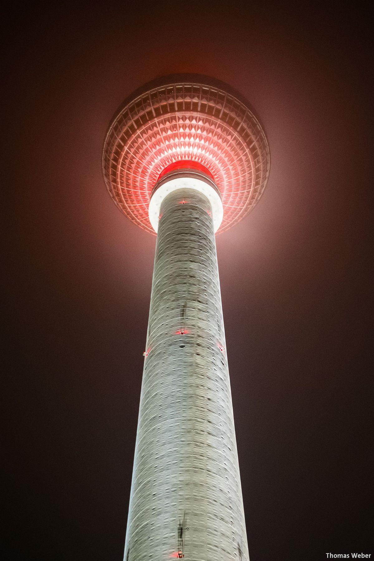 Fotograf Thomas Weber aus Oldenburg: Der Fernsehturm am Alexanderplatz in Berlin