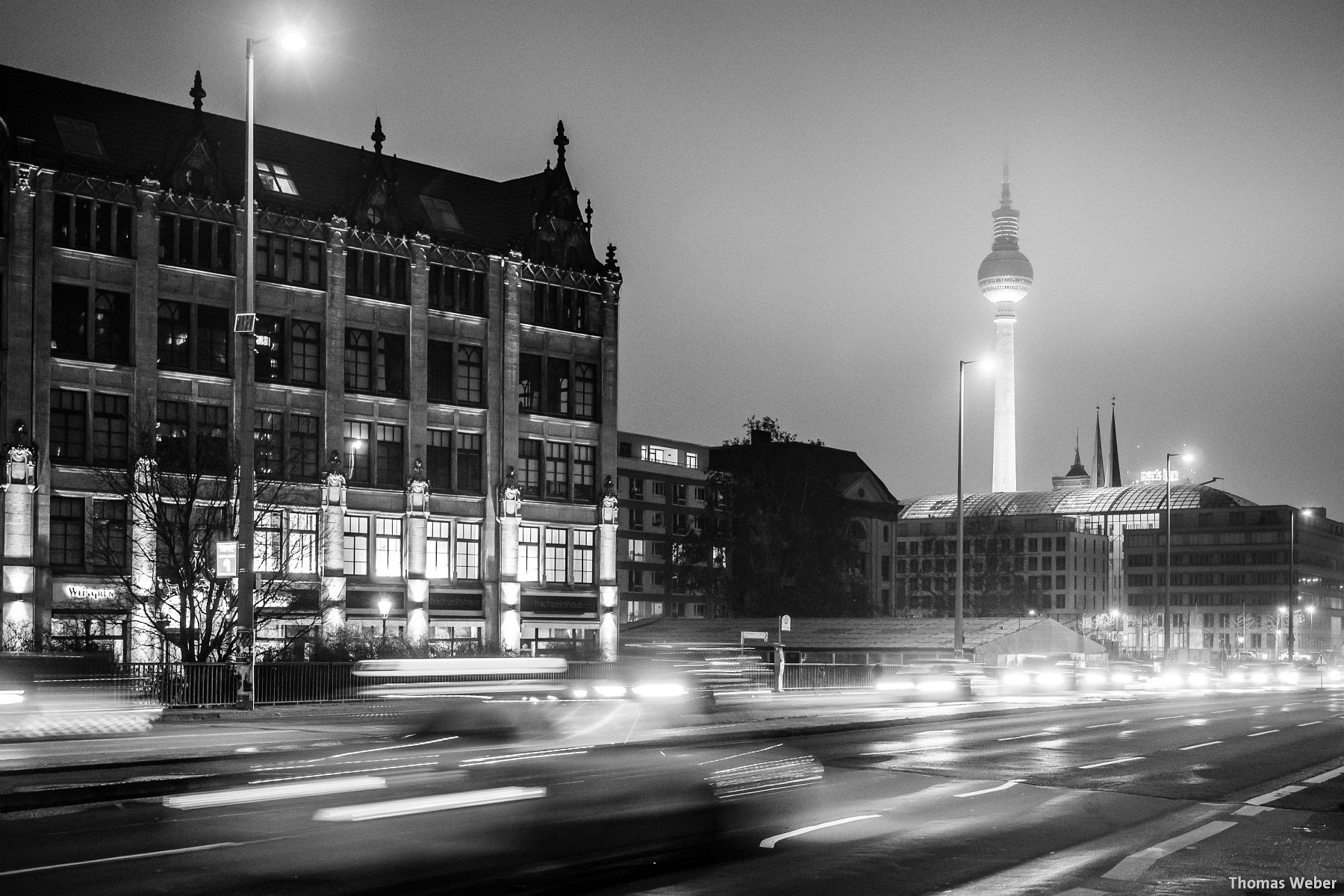 Fotograf Thomas Weber aus Oldenburg: Fernsehturm am Alexanderplatz in Berlin