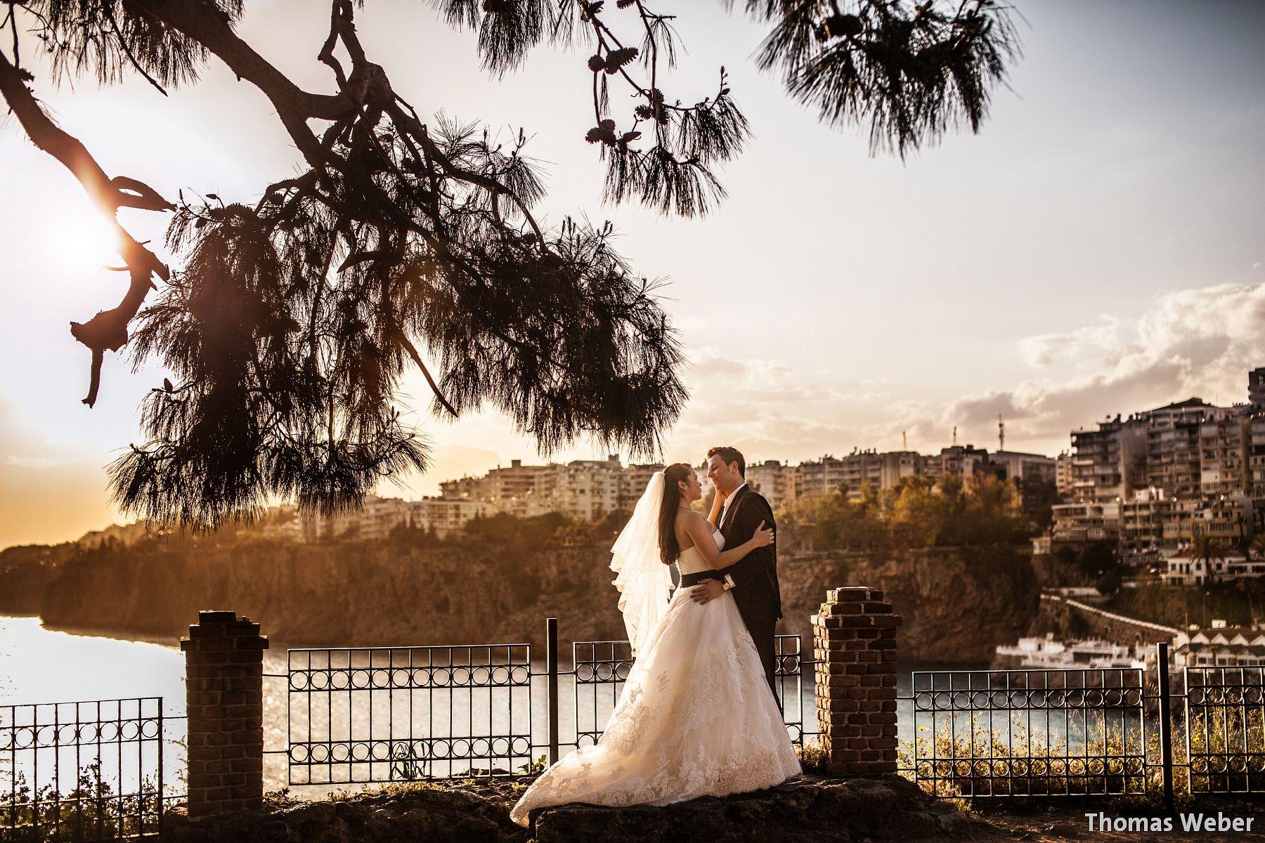 Hochzeitsfotos in Antalya