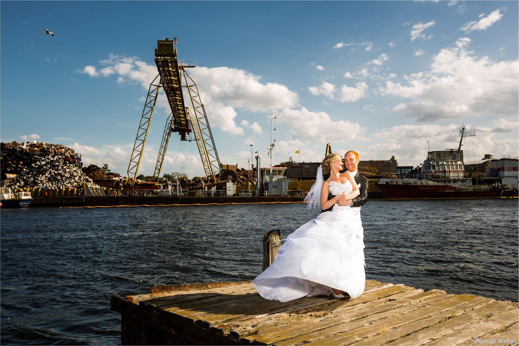 Hochzeitsfotograf Thomas Weber bei einer Hochzeitsreportage in Wilhelmshaven (12)
