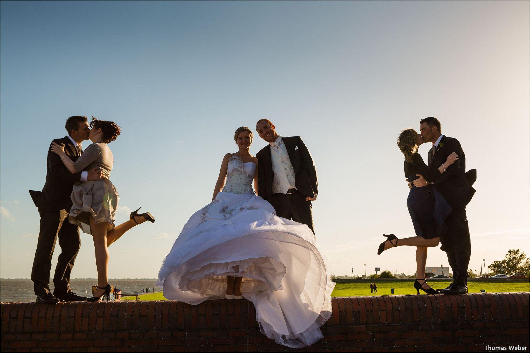 Hochzeitsfotograf Thomas Weber bei einer Hochzeitsreportage in Wilhelmshaven (16)