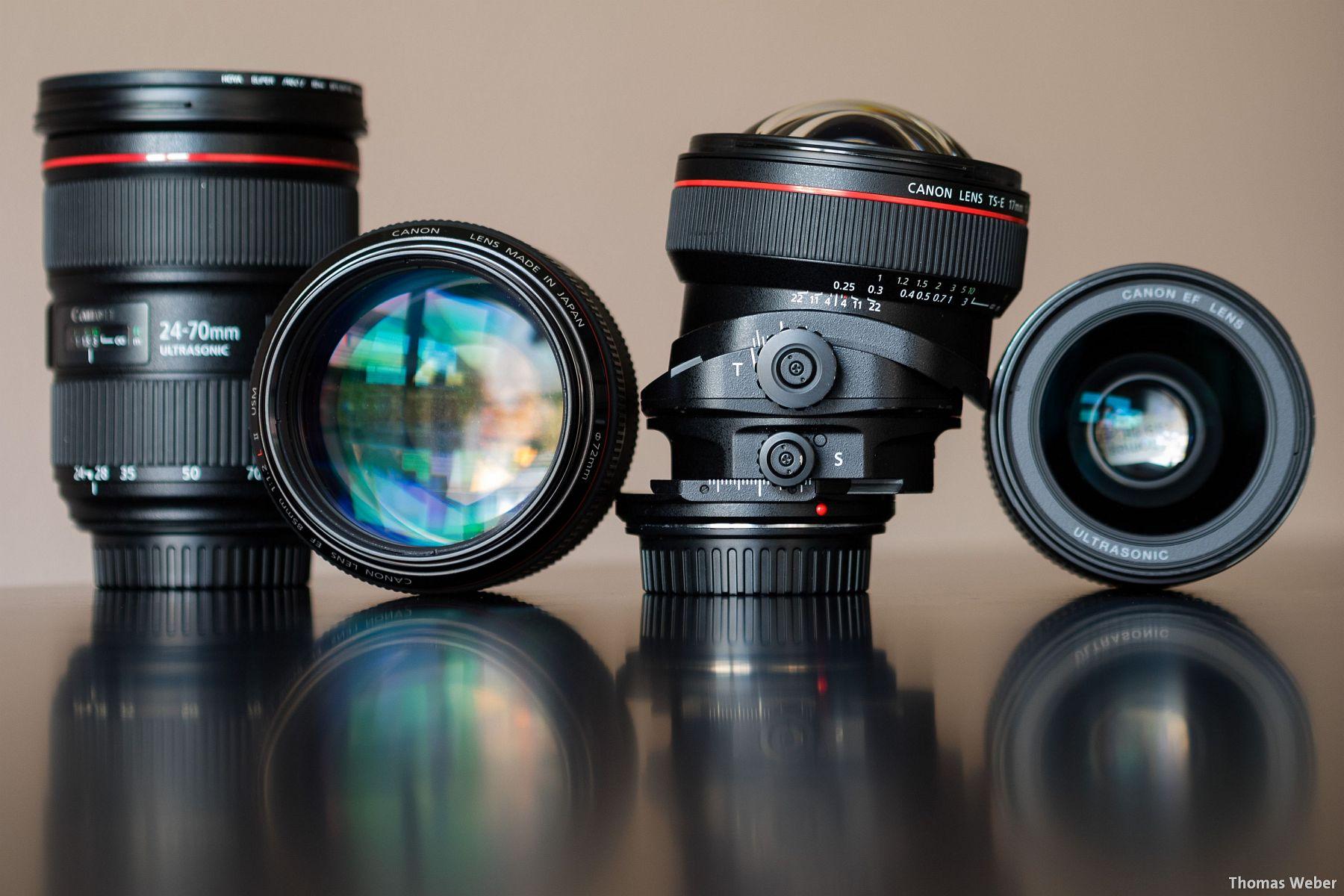 Fotograf Oldenburg: Ein paar meiner Lieblings-Objektive von Canon