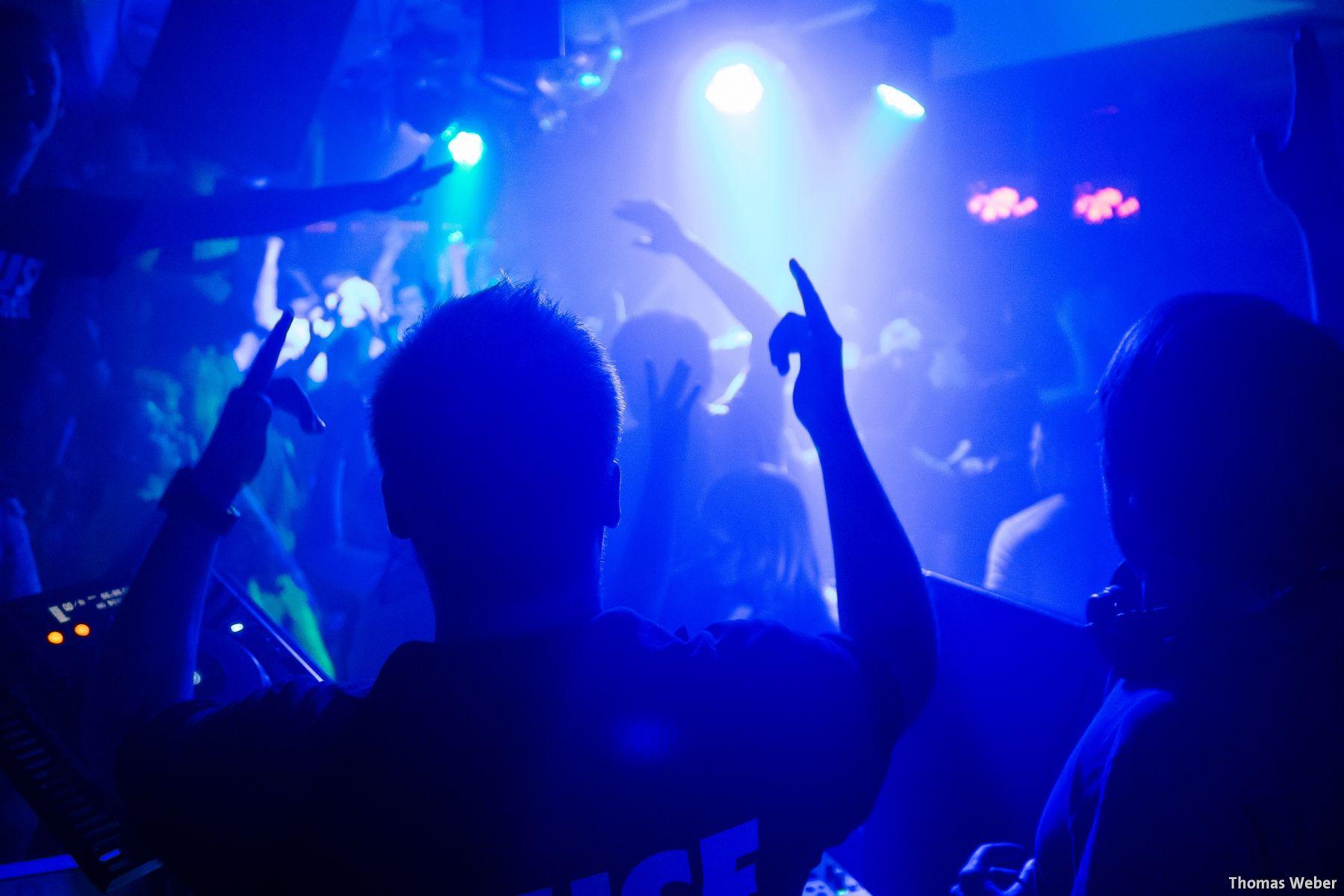 """Partyfotos mit den Housedestroyern bei """"Wilhelmshaven tanzt"""" (2)"""
