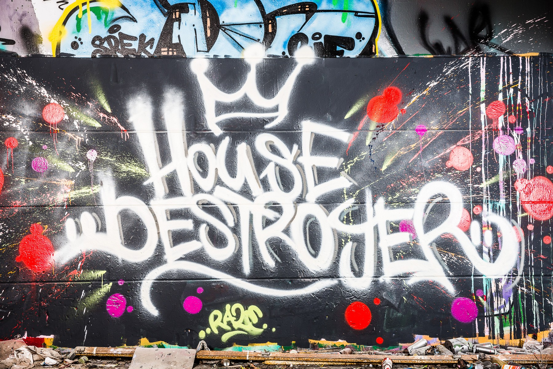 Pressefotos der Housedestroyer, Fotograf Thomas Weber aus Oldenburg