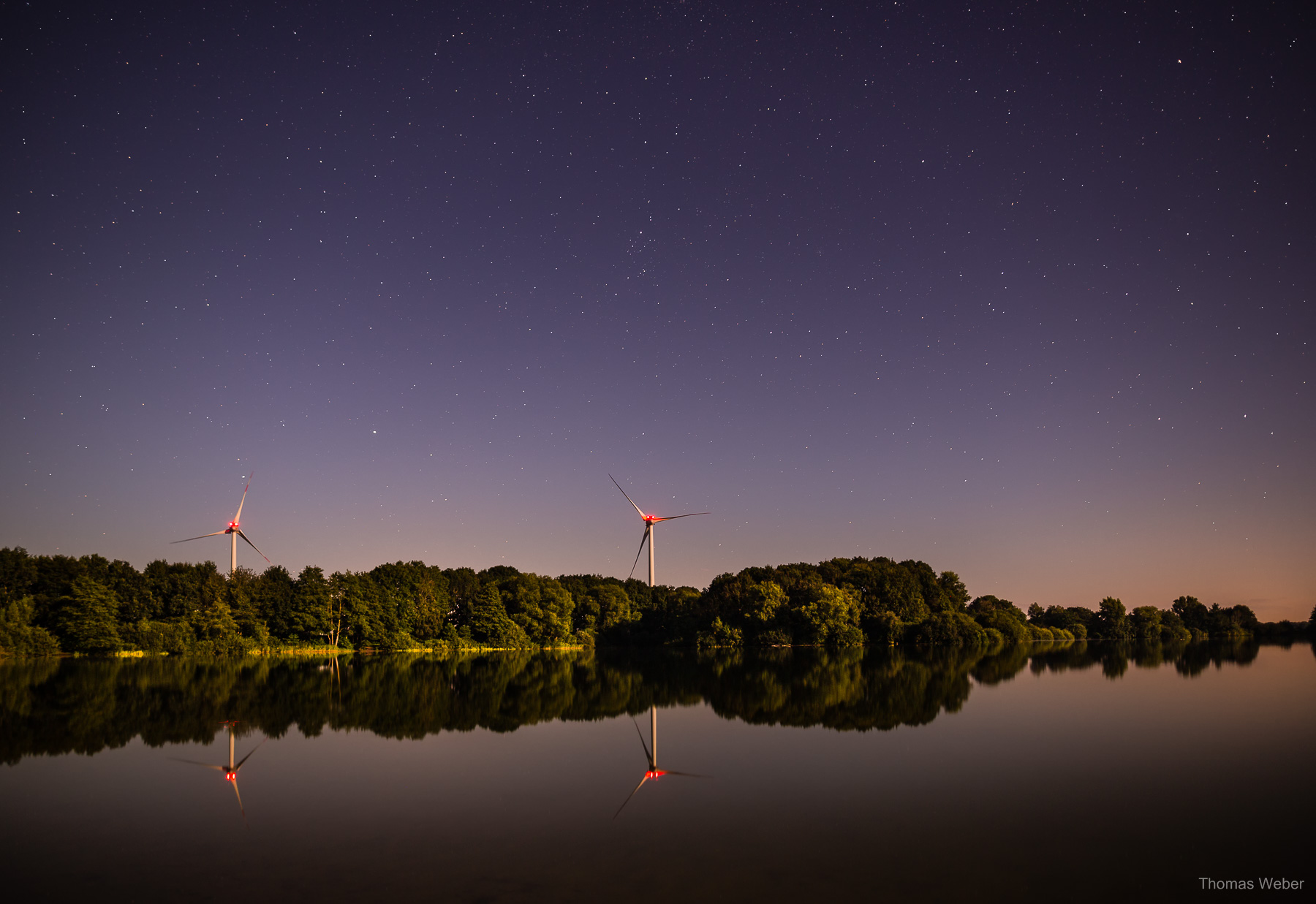 Nachtfotografie und Sternfotografie in Oldenburg, Fotograf Thomas Weber aus Oldenburg