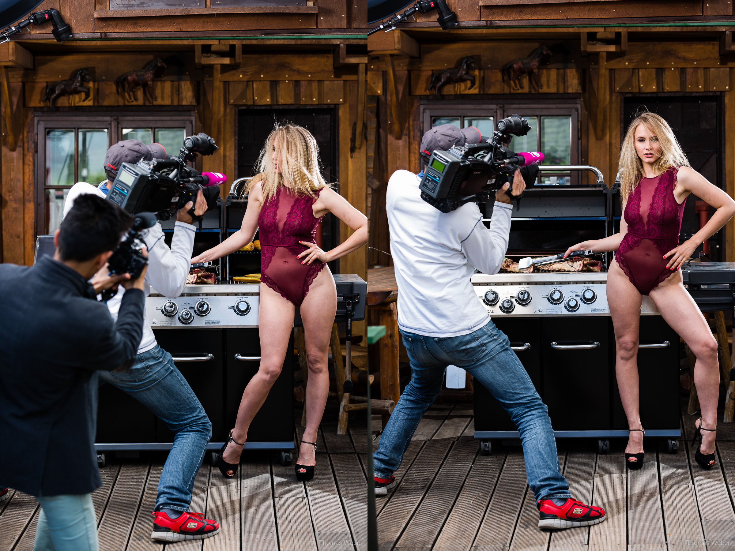 BBQ-Chicks-Kalendershooting, Fotograf Thomas Weber aus Oldenburg