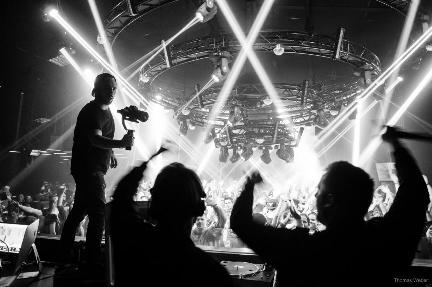 DJ Duo Housedestroyer im 5 Elements Wildeshausen, Fotograf Thomas Weber aus Oldenburg