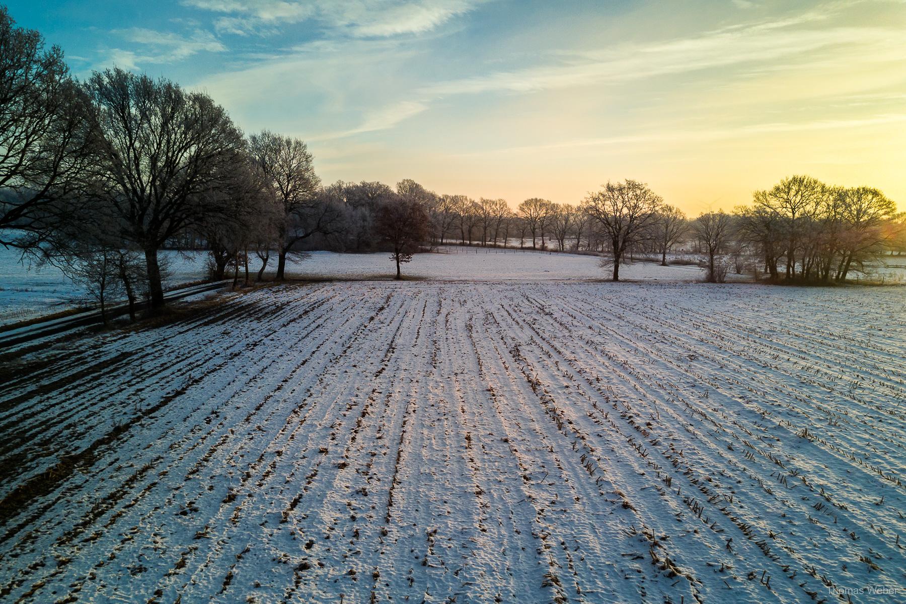 Fotograf Oldenburg, Thomas Weber: Landschaftsfotos und Naturfotos im Winter am See und im Moor