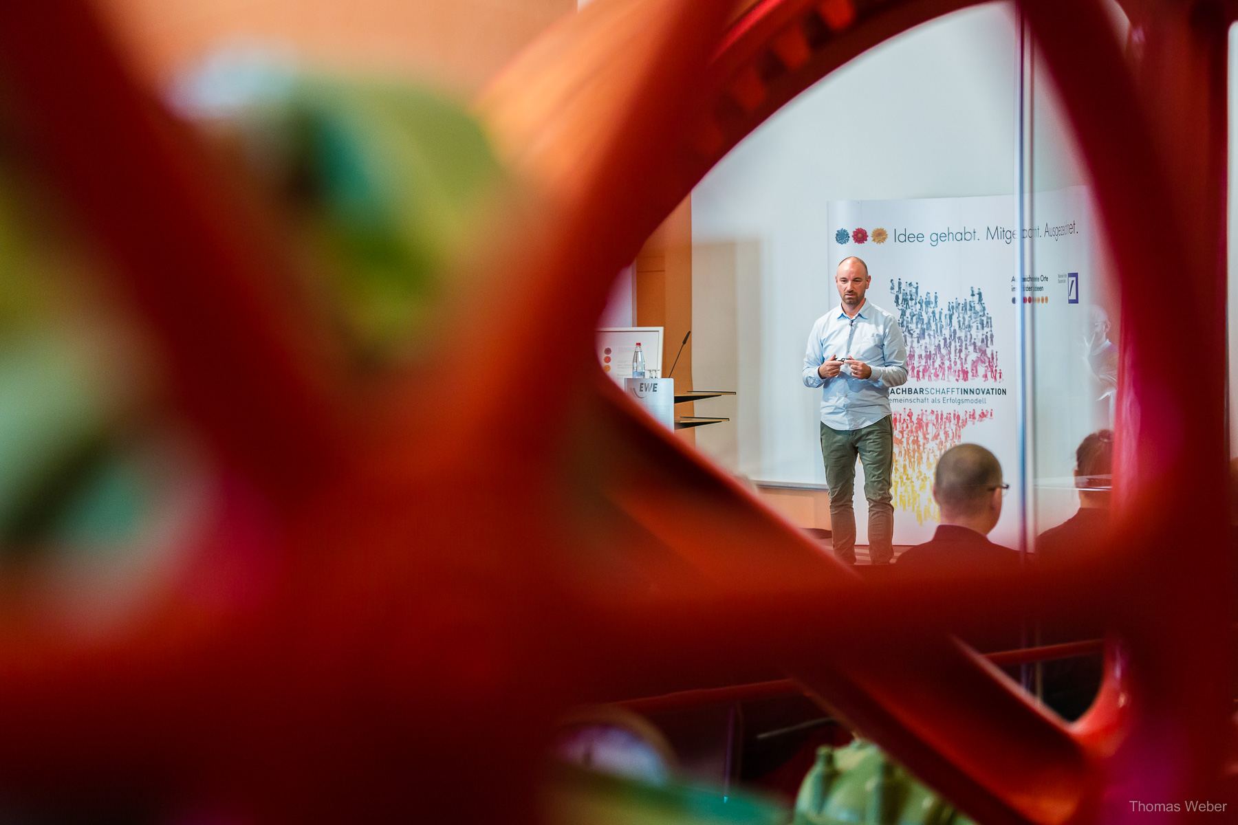 Reportagefotografie und Pressefotografie bei einer Veranstaltung der EWE, Fotograf Thomas Weber aus Oldenburg