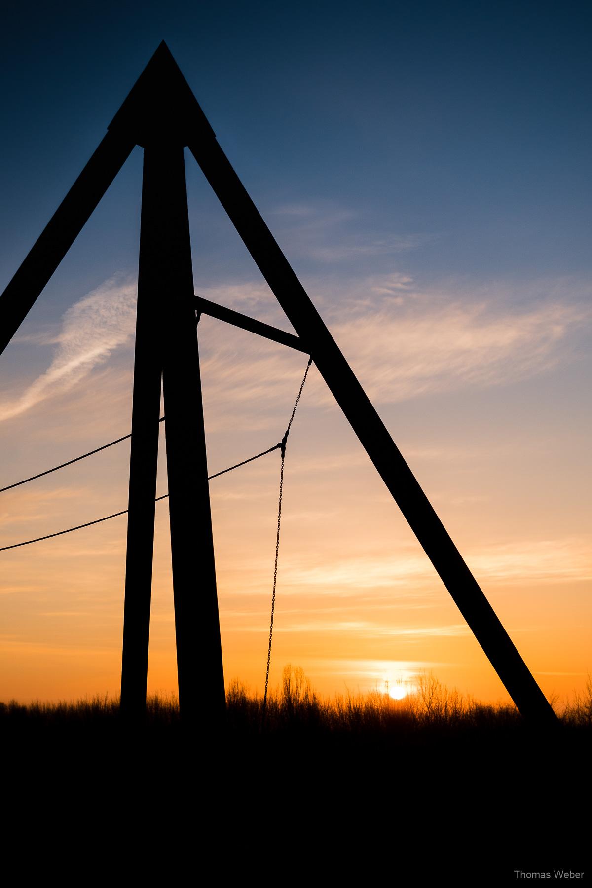 Sonnenaufgang auf dem Utkiek in Oldenburg, Fotograf Thomas Weber aus Oldenburg