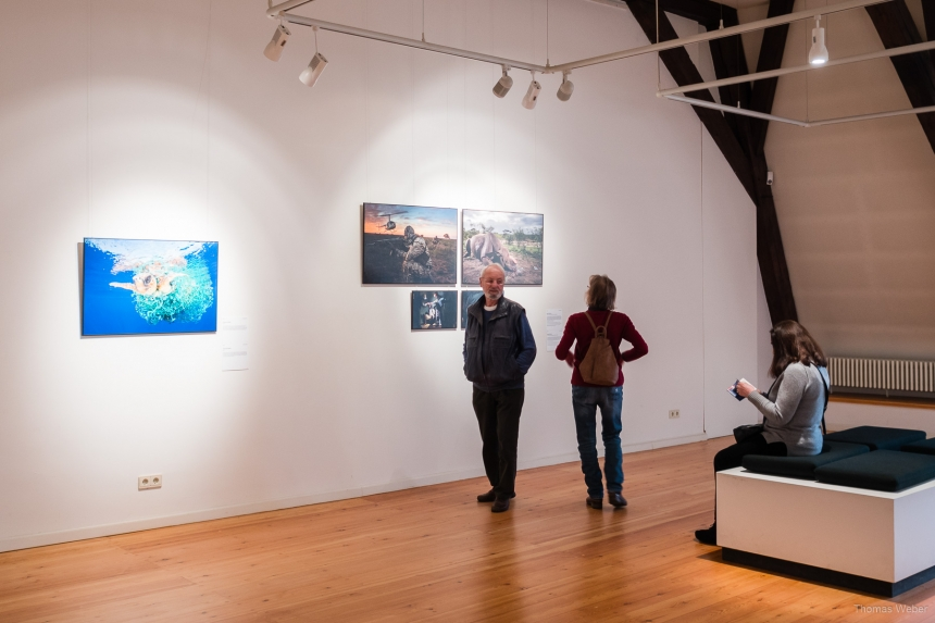 World Press Photo 2017 Ausstellung im Schloss Oldenburg, Fotograf Thomas Weber aus Oldenburg