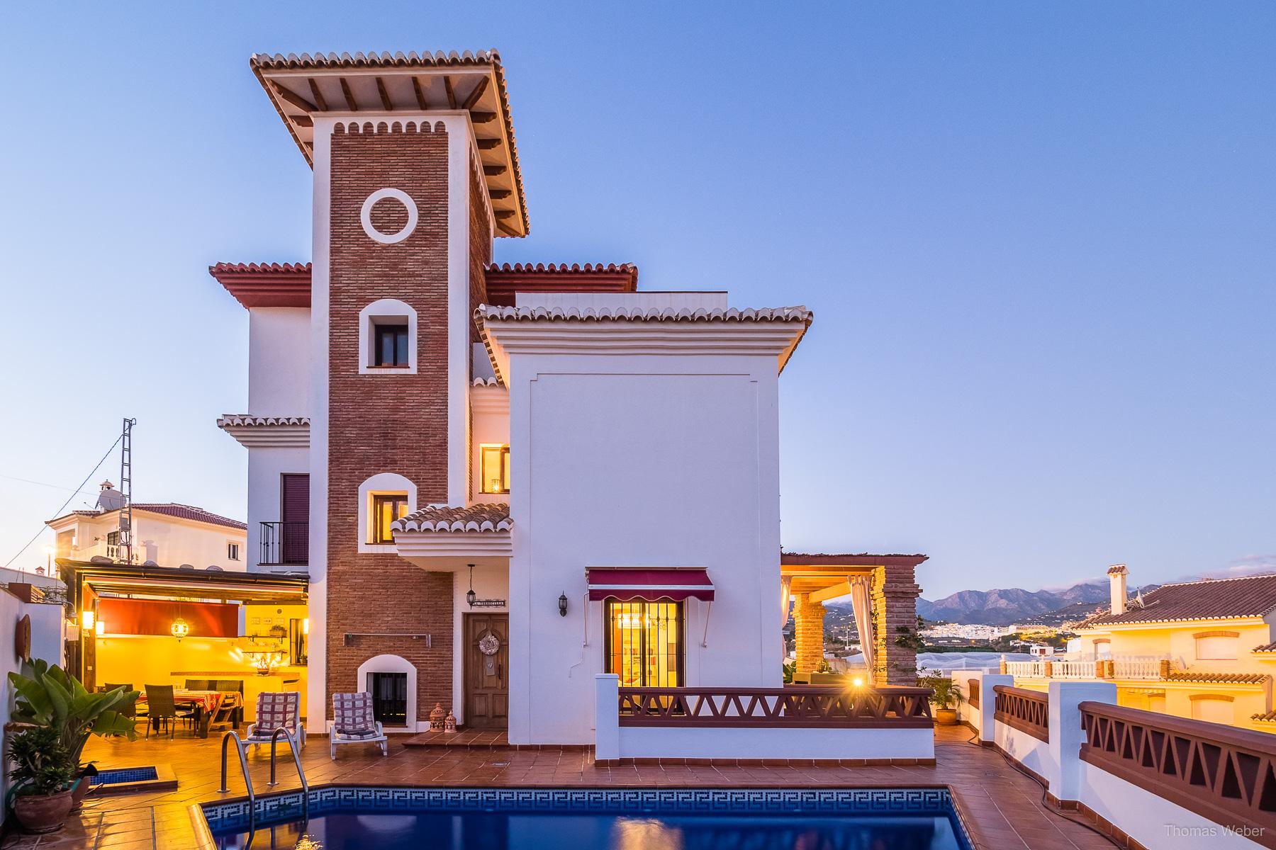 Ferienhaus in der Nähe von Málaga, Architekturfotografie in Spanien, Fotograf Thomas Weber aus Oldenburg