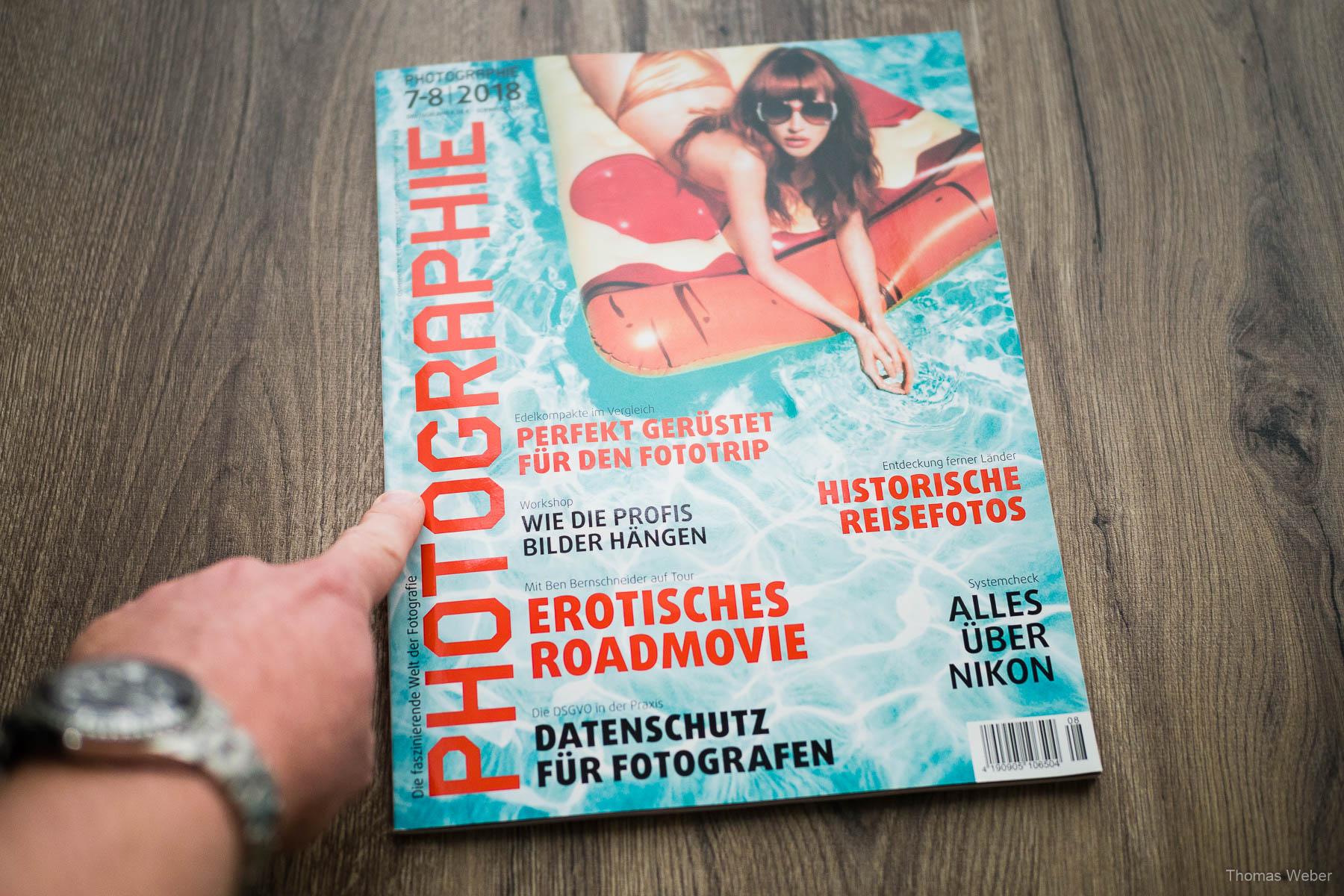 Fotograf Thomas Weber aus Oldenburg: Fotowettbewerb ''Porträt'' der Fachzeitschrift PHOTOGRAPHIE