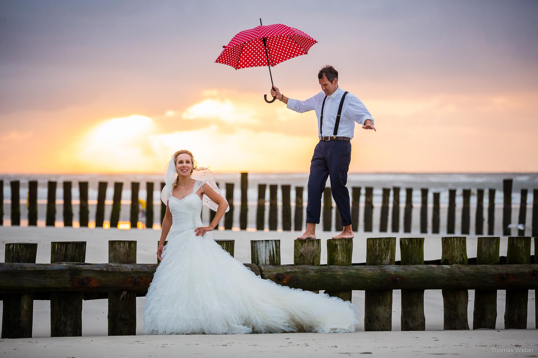 After-Wedding-Shooting auf Wangerooge, Fotograf Thomas Weber aus Oldenburg