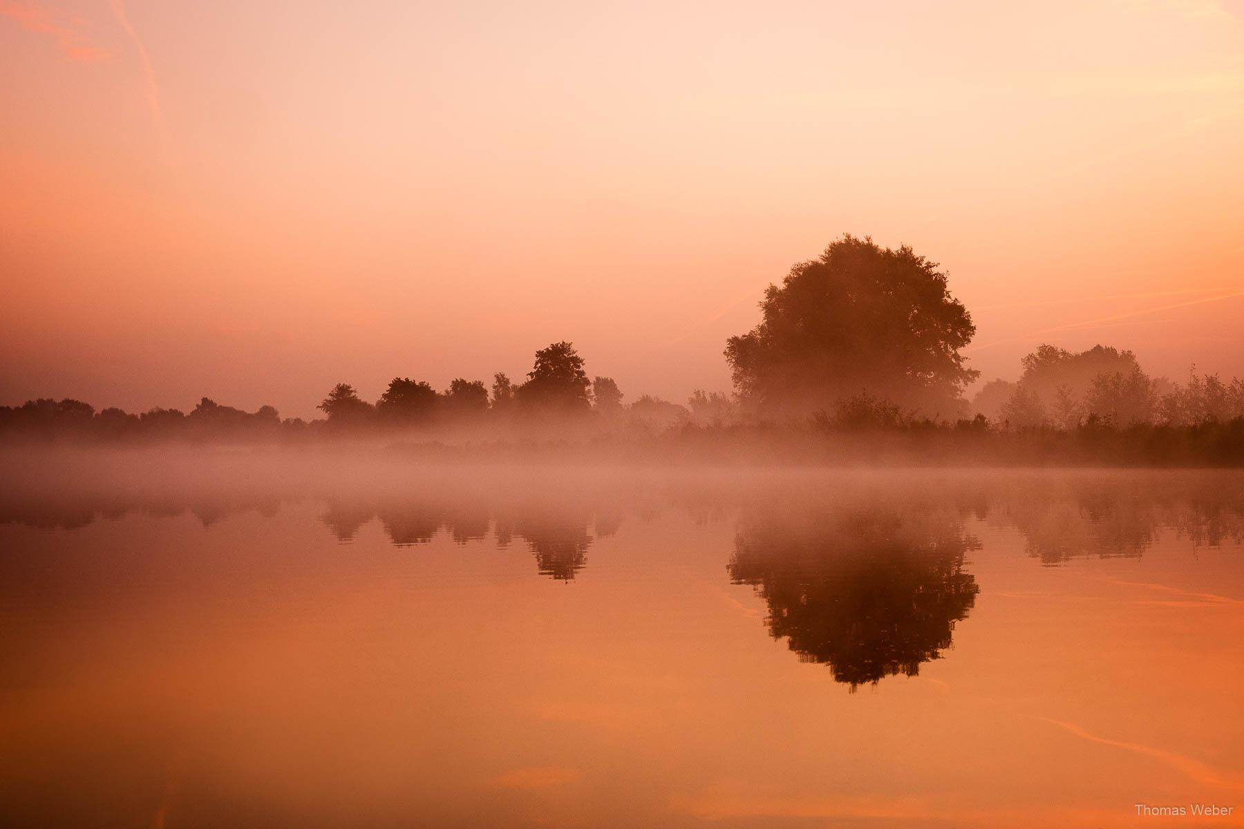 Sonnenaufgang an der Hunte