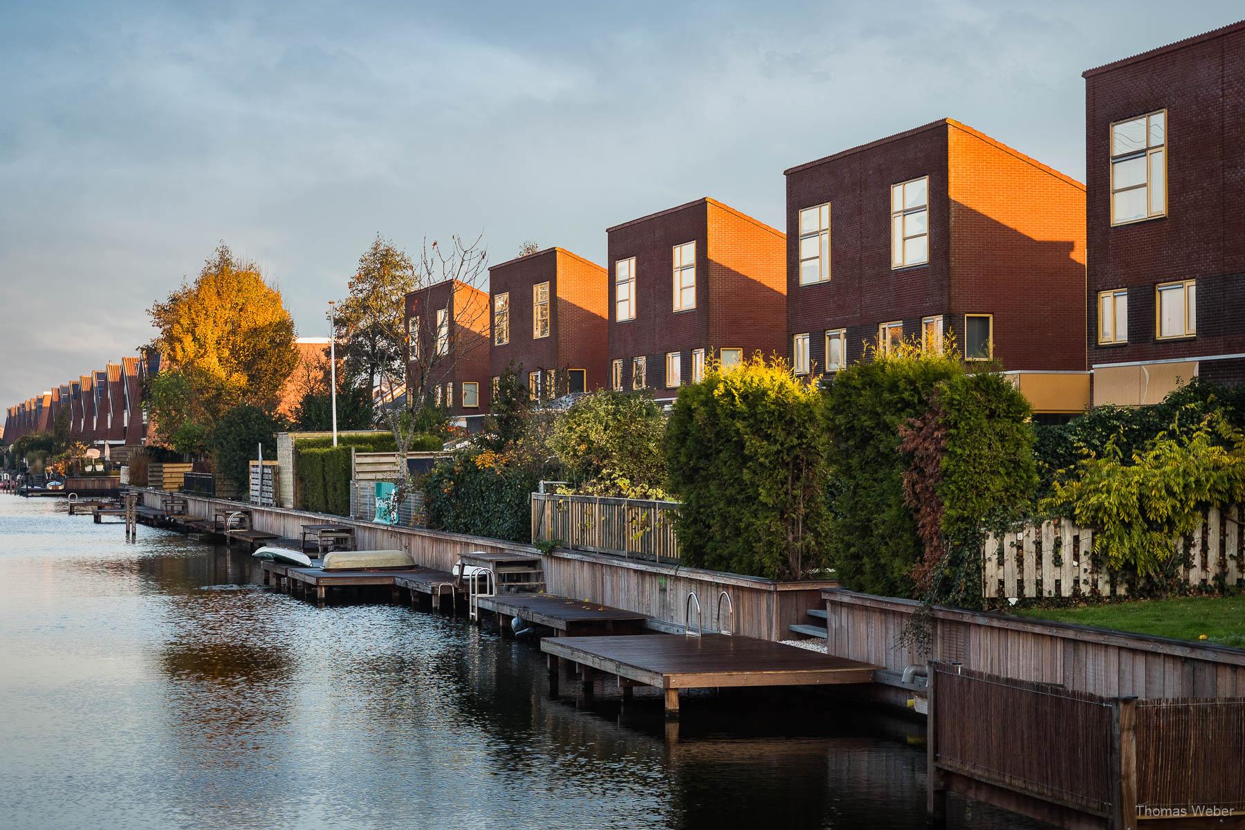 Der Reitdiephaven in Groningen bei einer Fahrradtour durch Groningen, Fotograf Oldenburg, Thomas Weber