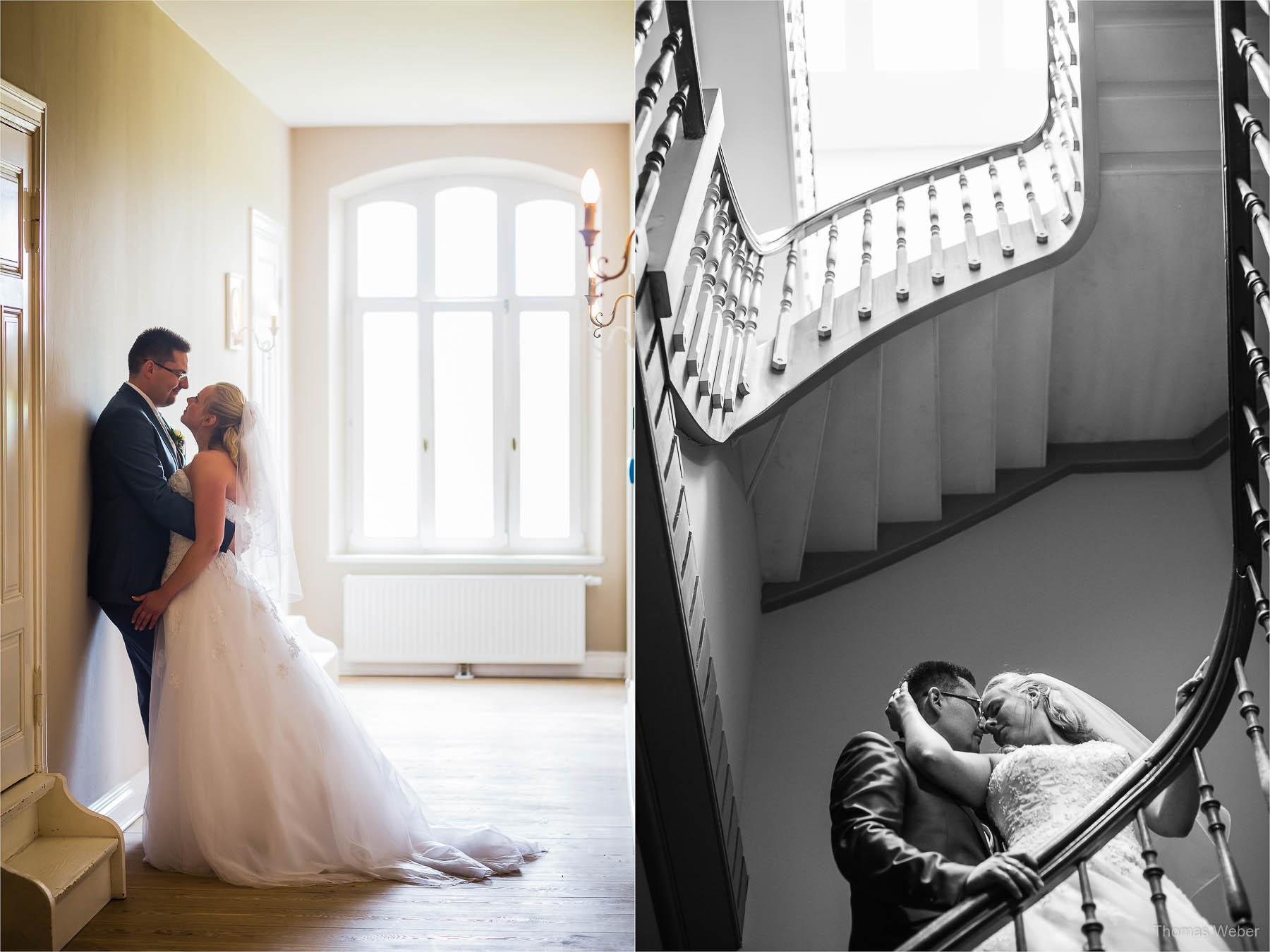 Hochzeitsfotos auf Schloss Gamehl