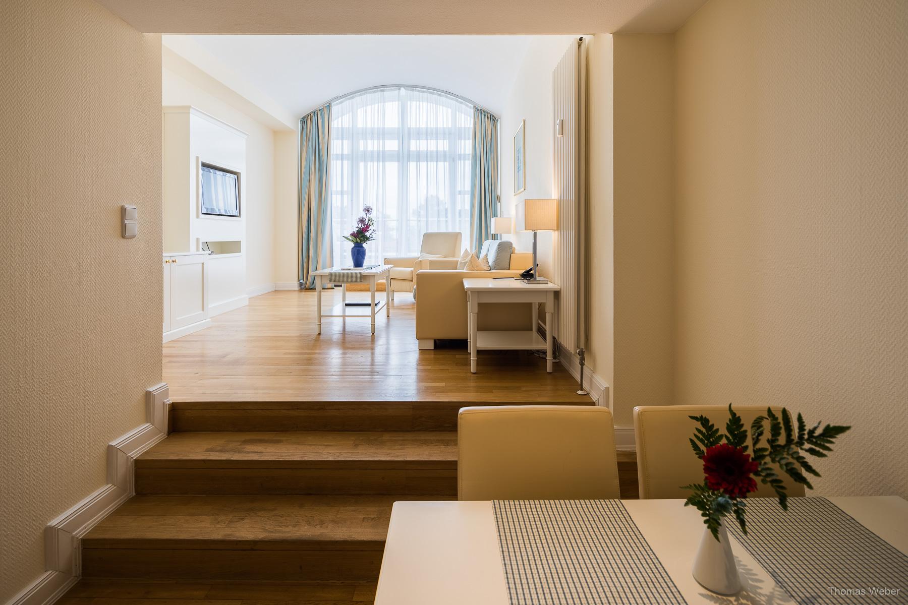 Hotelfotos vom Strandhotel Kurhaus Juist, Architekturfotograf und Hotelfotograf Thomas Weber aus Oldenburg