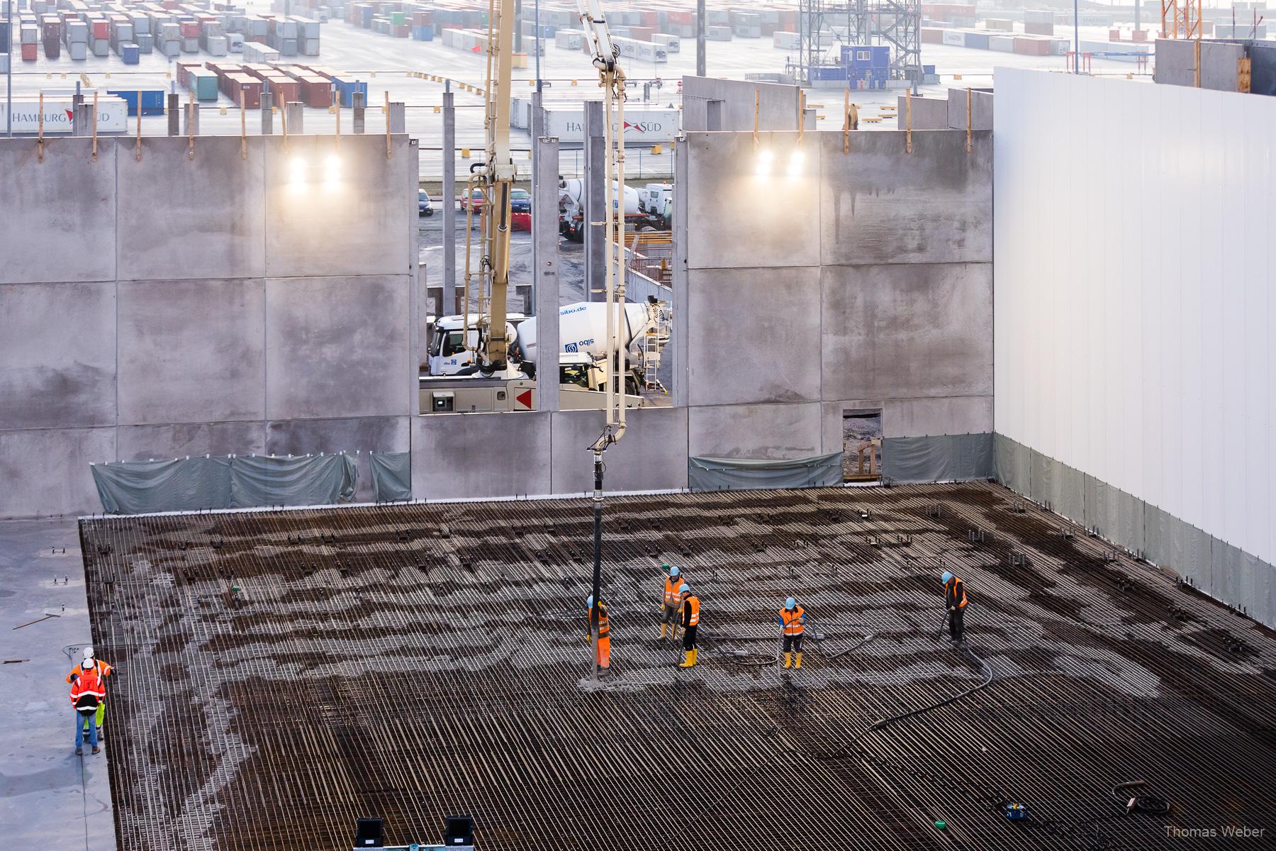 Industriefotos auf einer Großbaustelle, Fotograf Thomas Weber aus Oldenburg