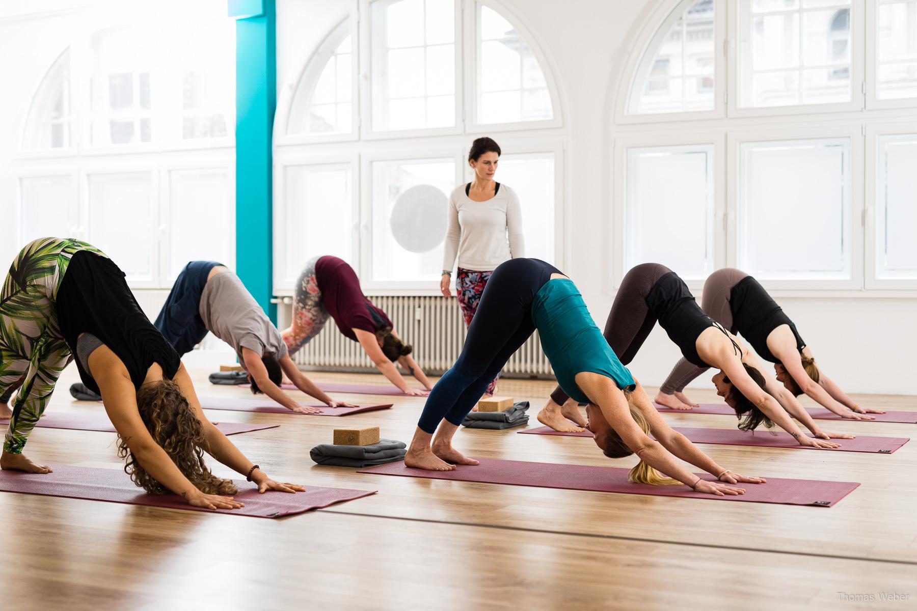 Werbefotos für das Yogaloft Oldenburg, Fotograf Oldenburg
