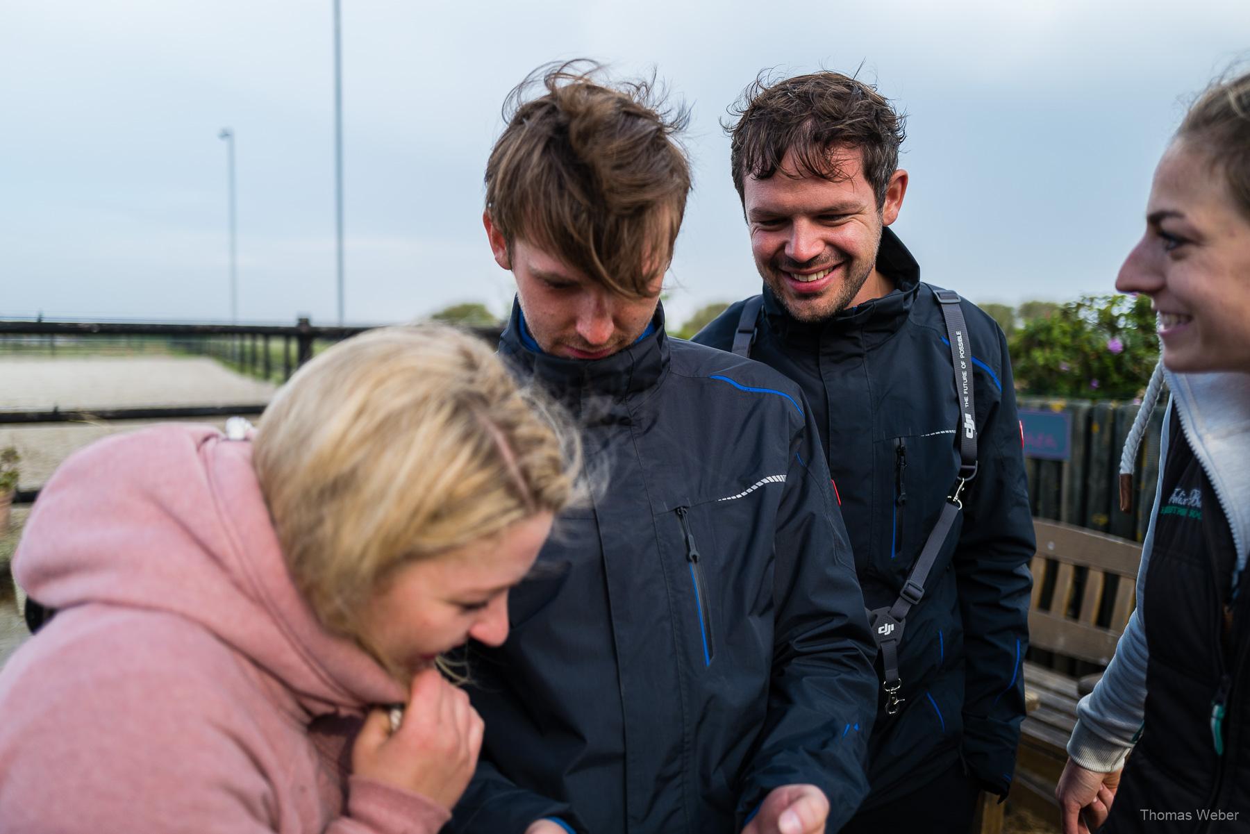 Filmdreh für Altano Pferdekliniken, Steffen Löffler und Thomas Weber