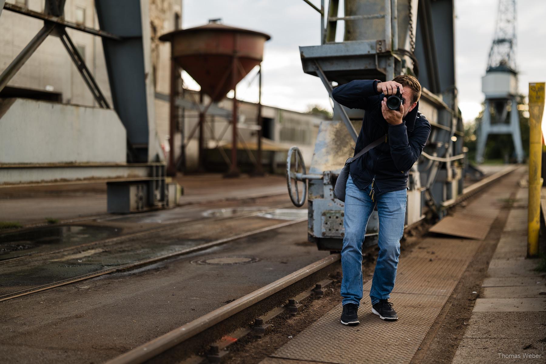 Vorstellung der Panasonic Lumix S5, Markenbotschafter und Fotograf Thomas Weber aus Oldenburg